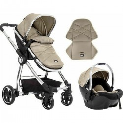 Allure 2 in 1+carseat Beige