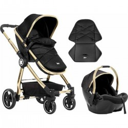 Allure 2 in 1+carseat Black