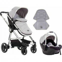 Allure 2 in 1+carseat Grey