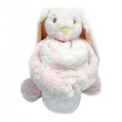 Κουβέρτα αγκαλιάς με παιχνίδι Bunny