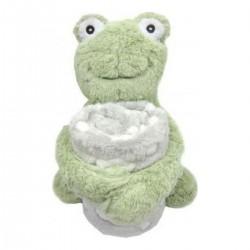 Κουβέρτα αγκαλιάς με παιχνίδι Froggy